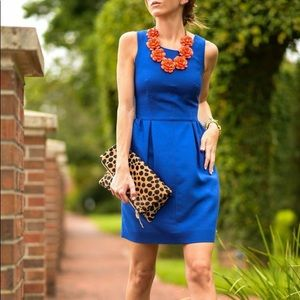 J. Crew Royal Blue Sleeveless Dress XS